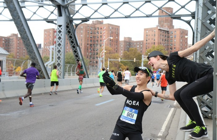 Marathon de New York, au coeur de Big Apple en photos
