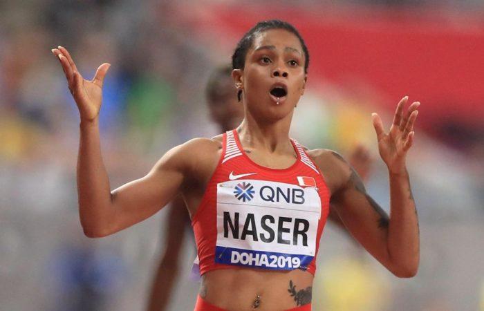 Naser, championne du monde du 400 m, ne sera pas suspendue