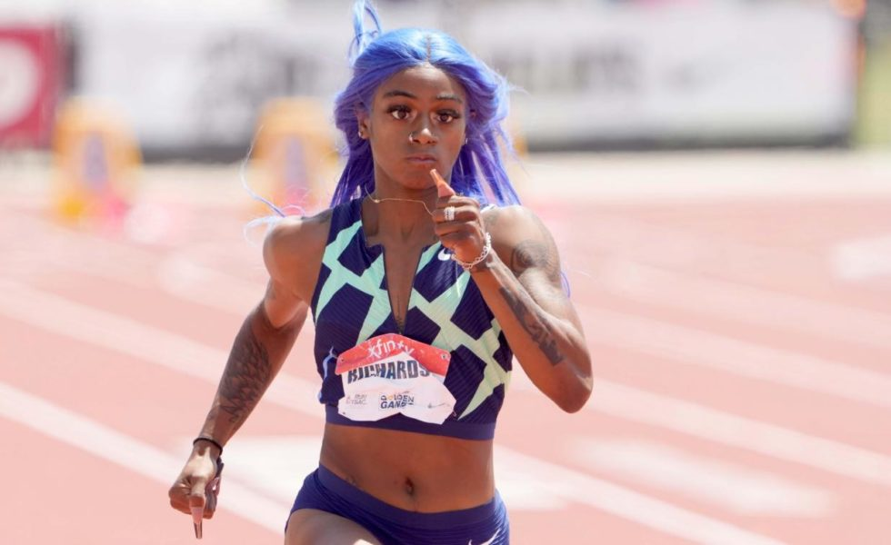 Sha' Carri Richardson, positive au cannabis et interdite de Jeux Olympiques ?